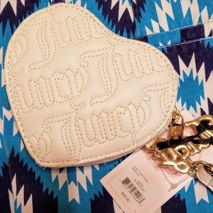 Juicy Couture Heart Coin Purse Wristlet